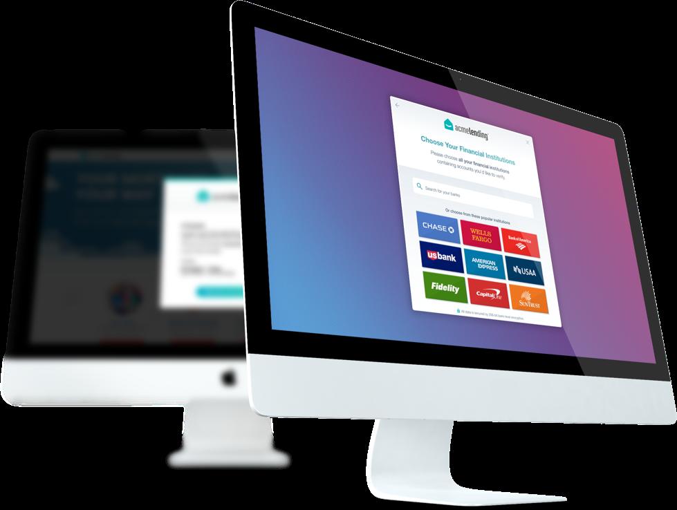 bank account verification api on desktop application
