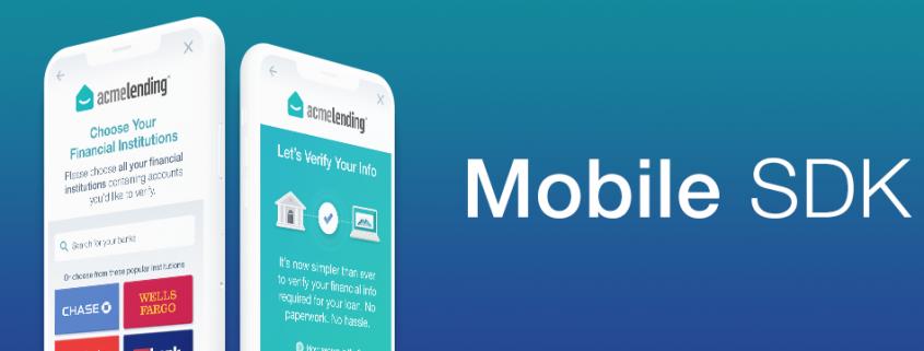 mobile sdk finicity connect fintech
